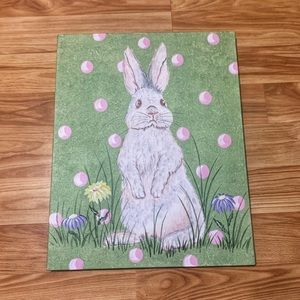 Renditions by Reesa Easter Bunny Wall Art 16x20